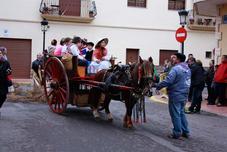 Festividad de Sant Antoni en Oropesa del Mar